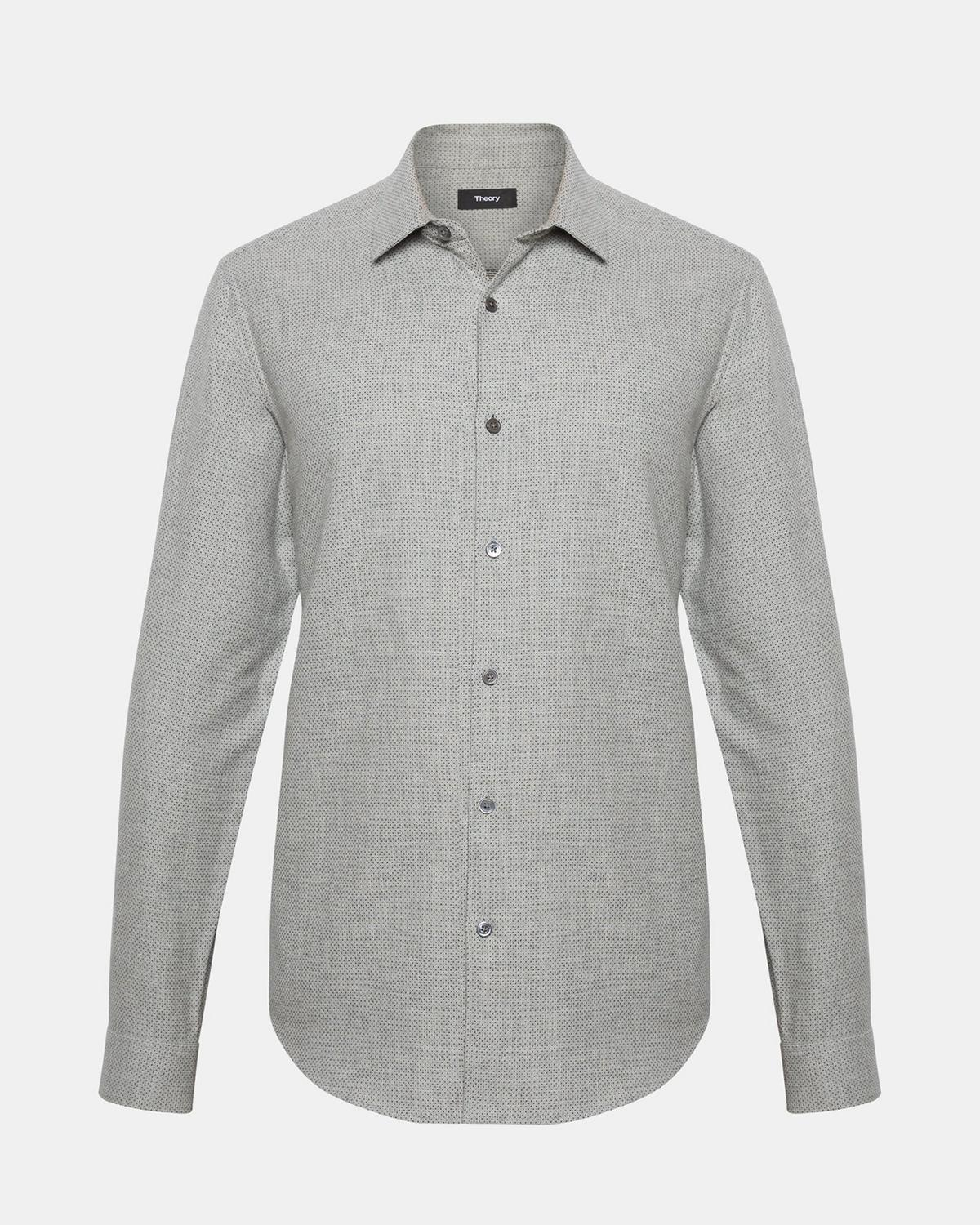 Pin-Dot Standard-Fit Shirt