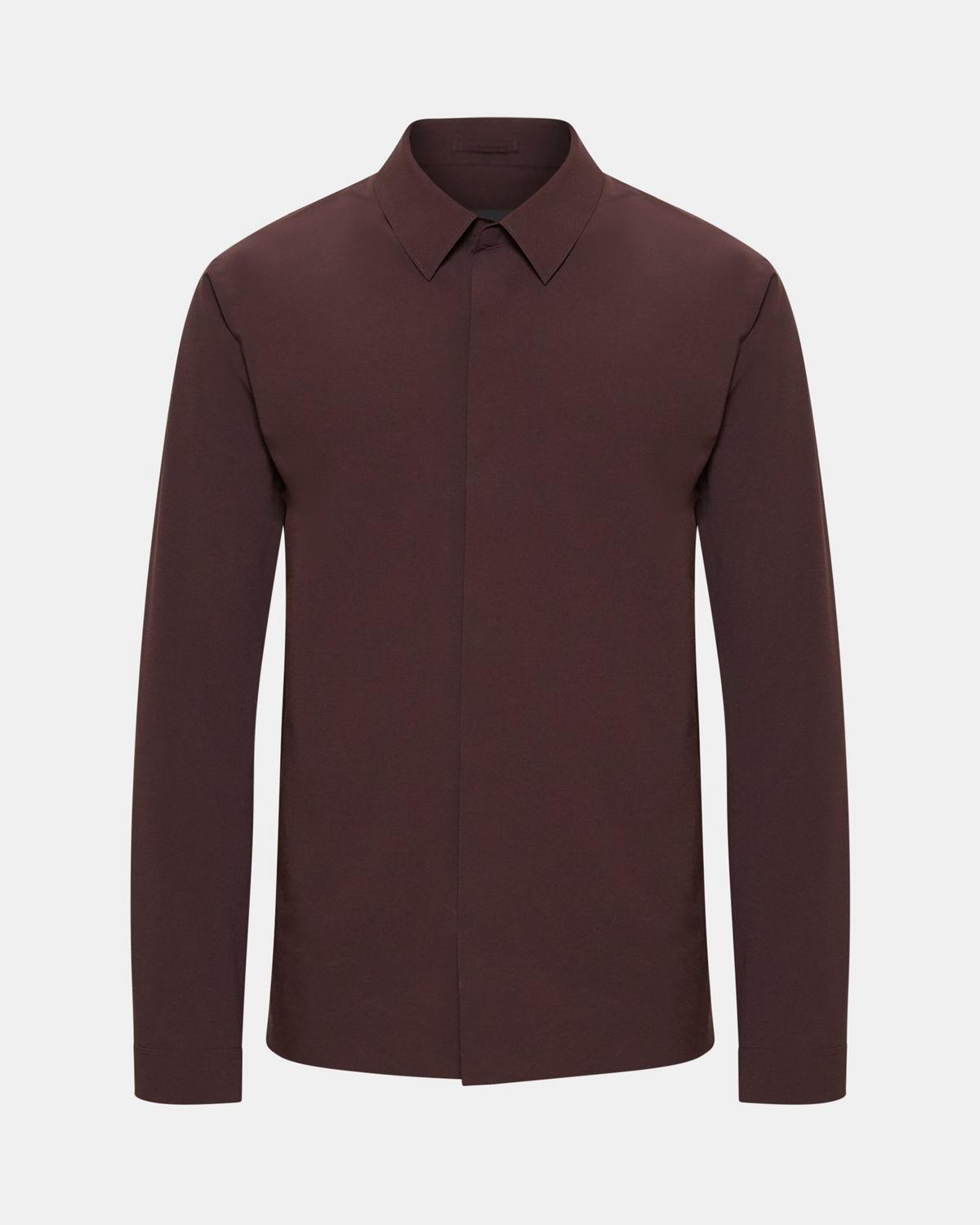 Mr Porter x Theory Bonded Shirt Jacket