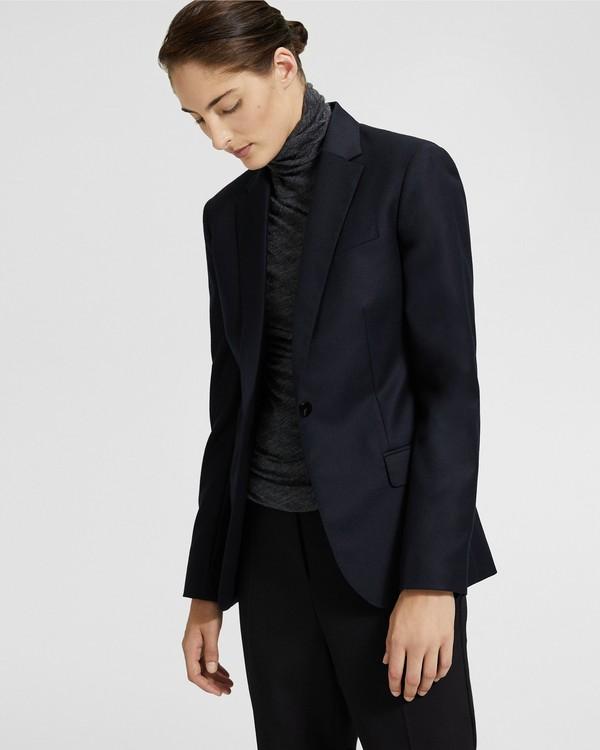 Theory Women's Jacket Charcoal