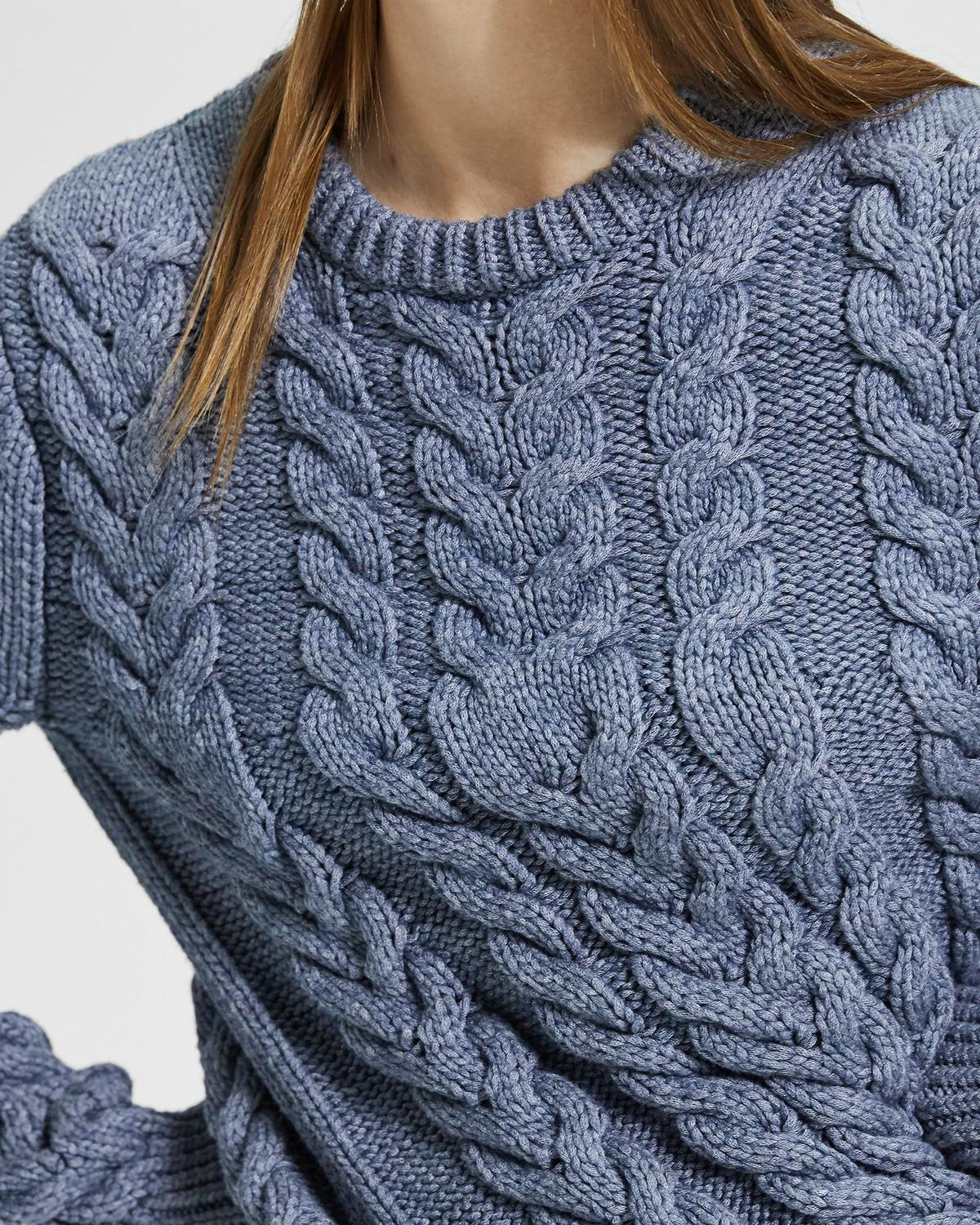 Twisting Cable Pullover