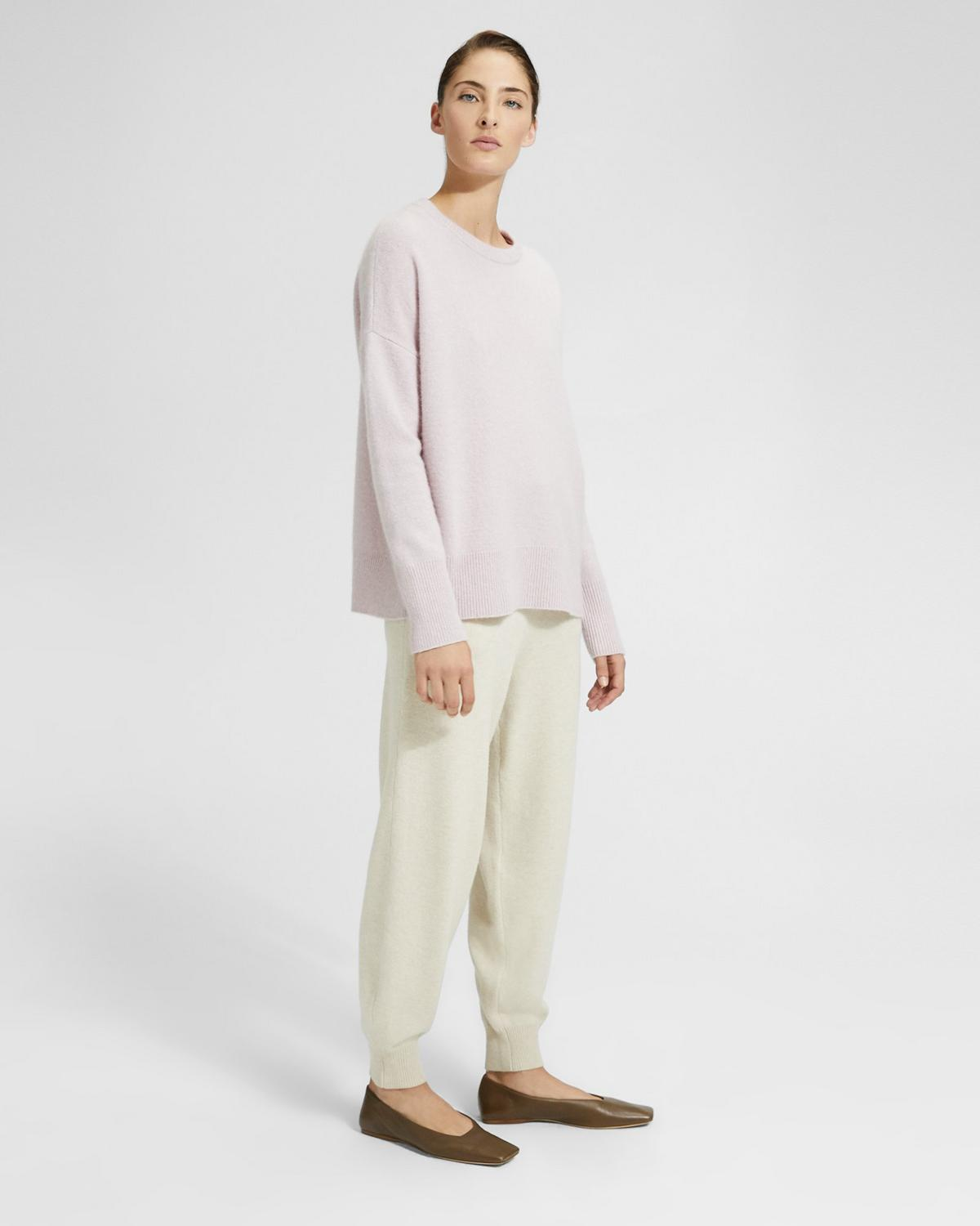 Relaxed Drop Shoulder Pullover