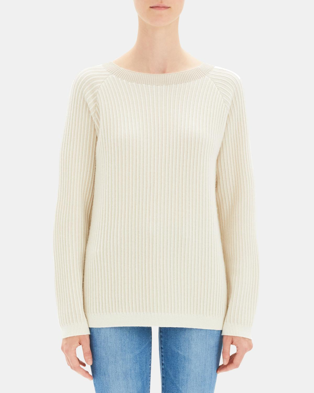 Cashmere Oversized Rib Pullover