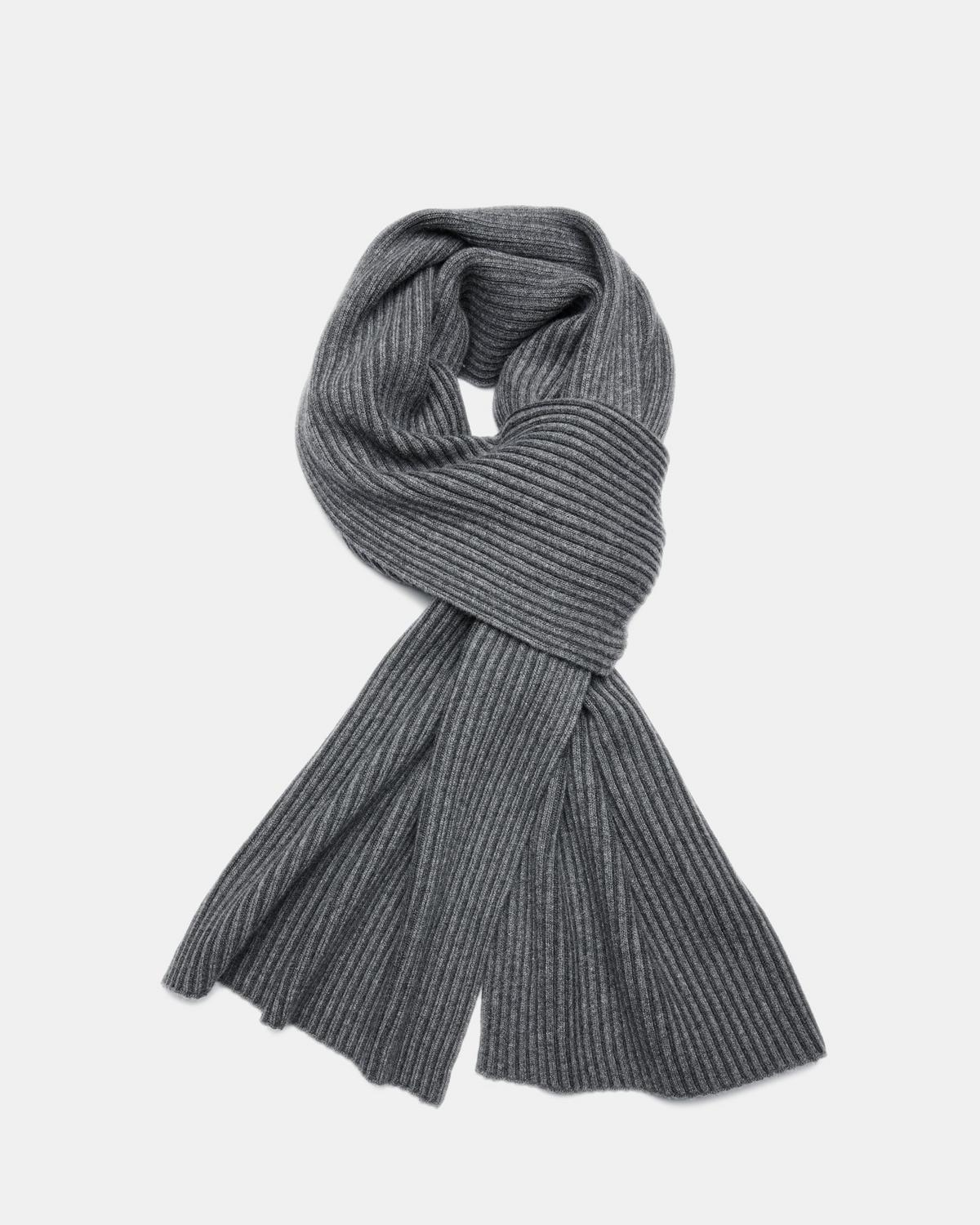 Ribbed Cashmere Oversized Scarf by Theory