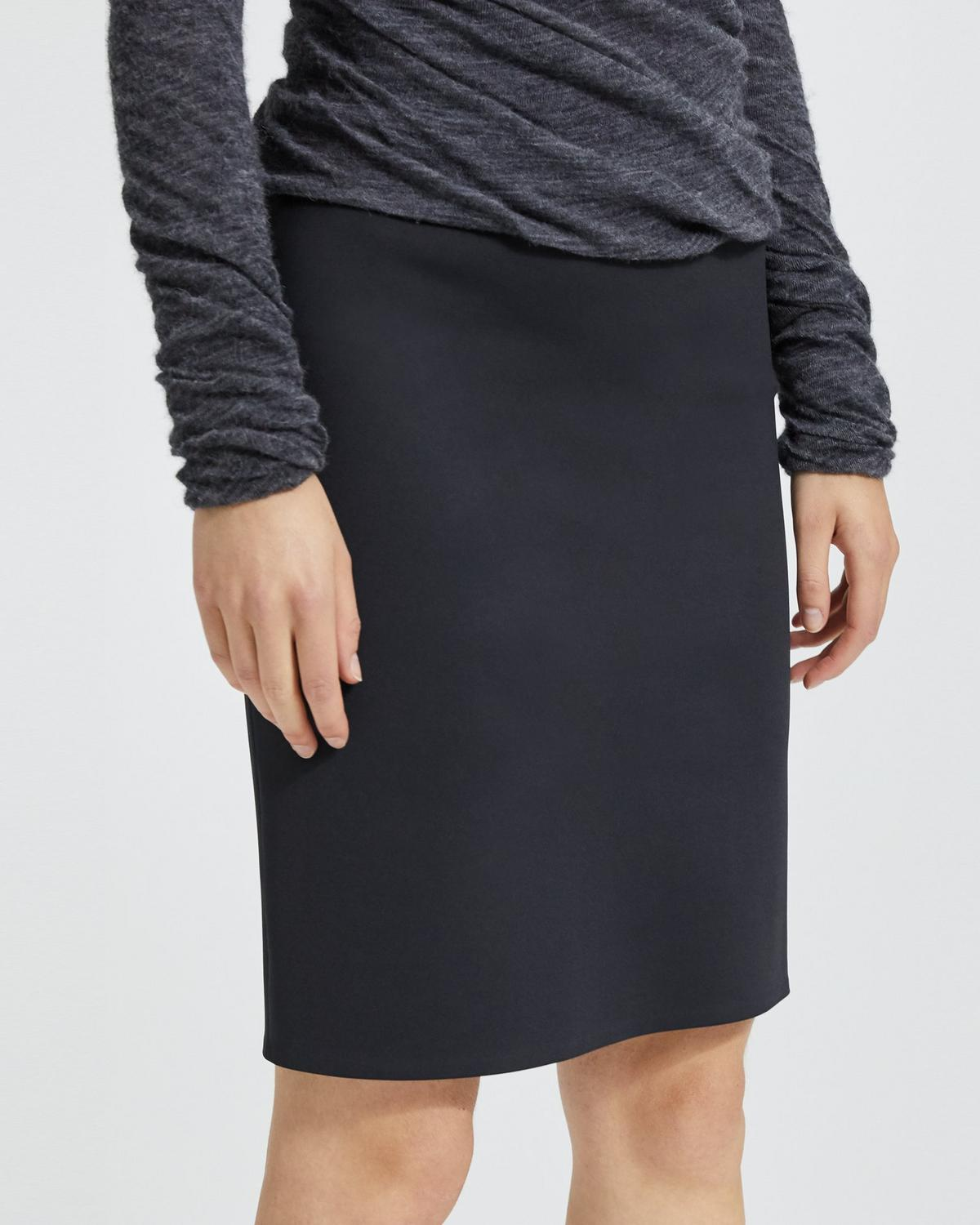 3c674e4bc Theory Womens Pull on Pencil Skirt Skirt Clothing & Accessories