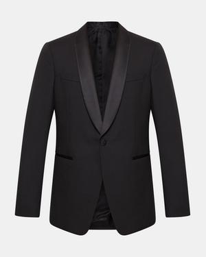 Chambers Shawl Tuxedo Blazer in Stretch Wool