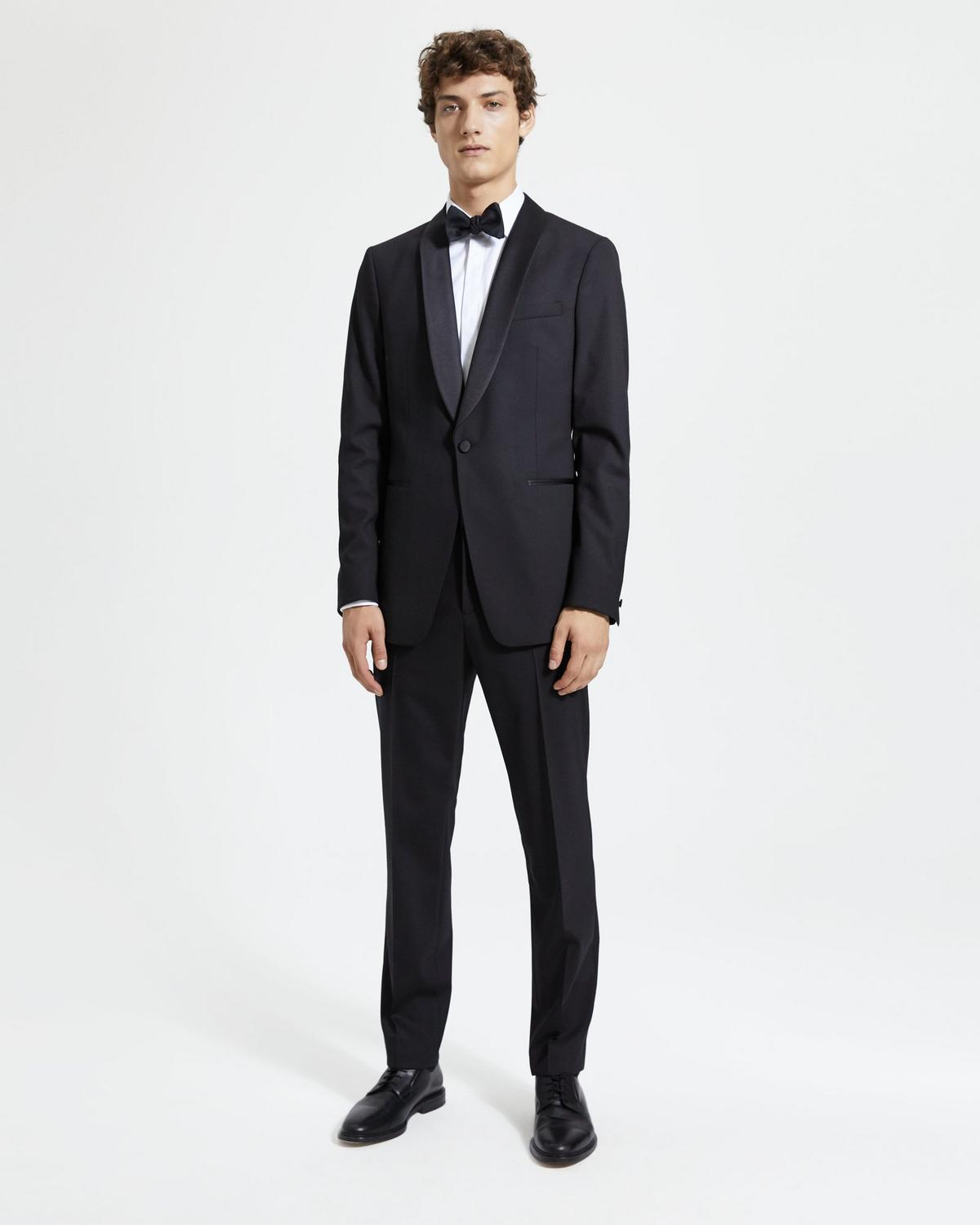 Chambers Shawl Tuxedo Blazer in Stretch Wool
