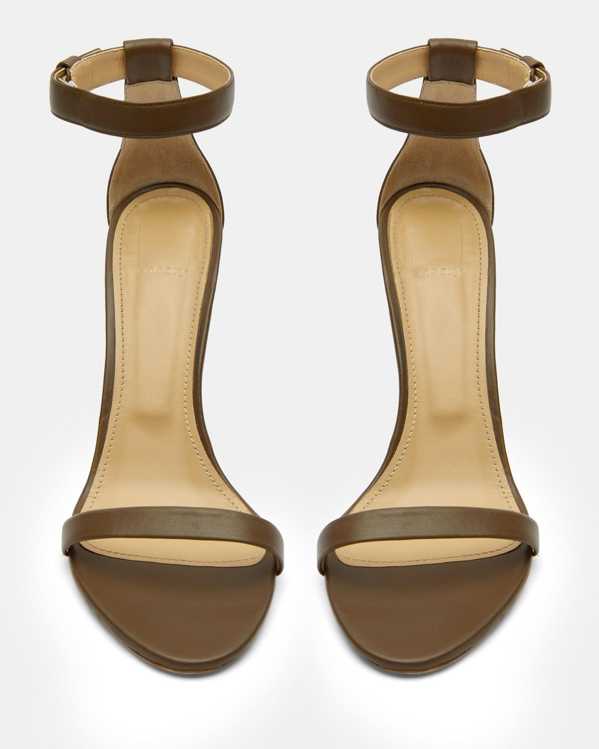Nappa High Heel Sandal