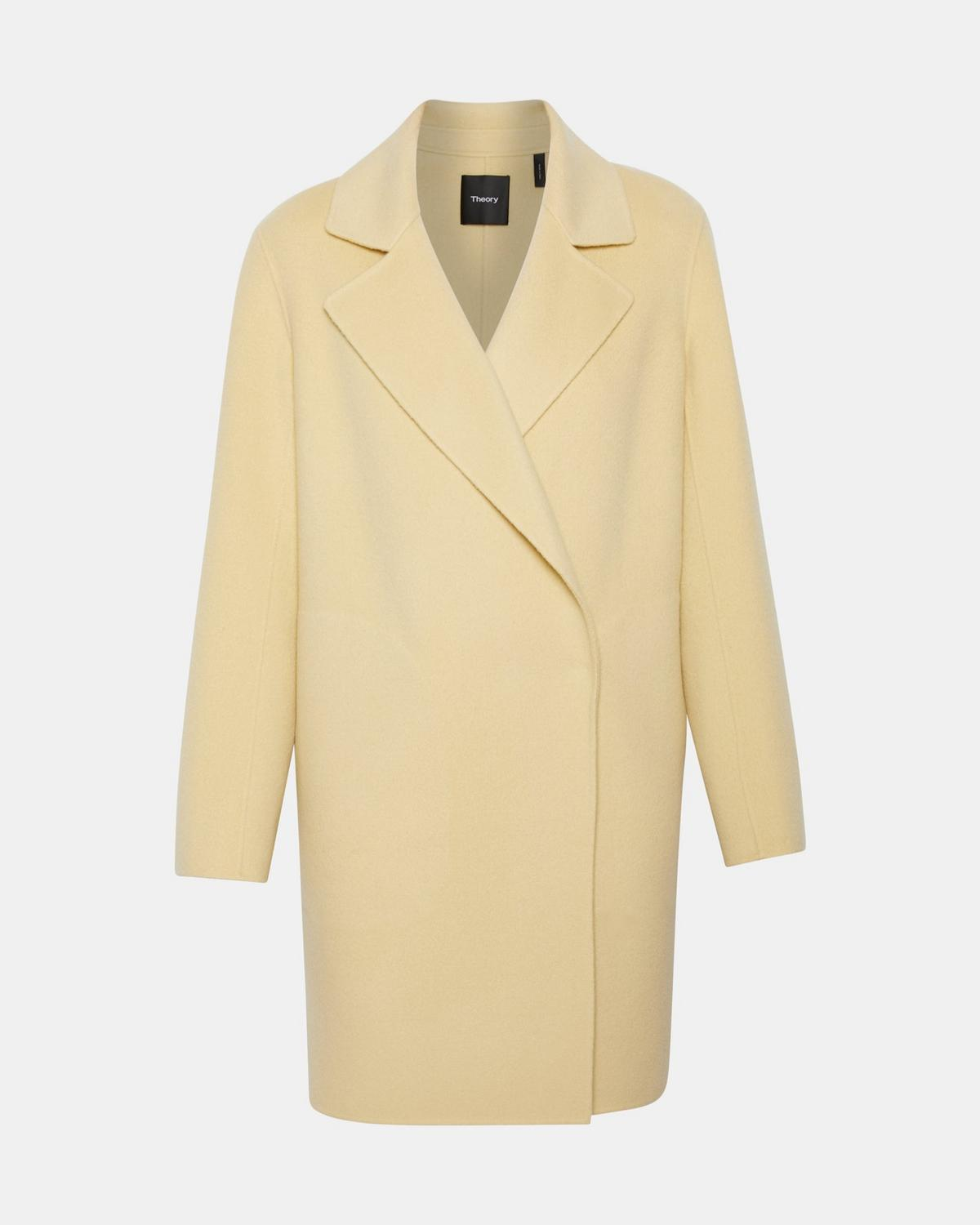 Wool-Cashmere Boy Coat