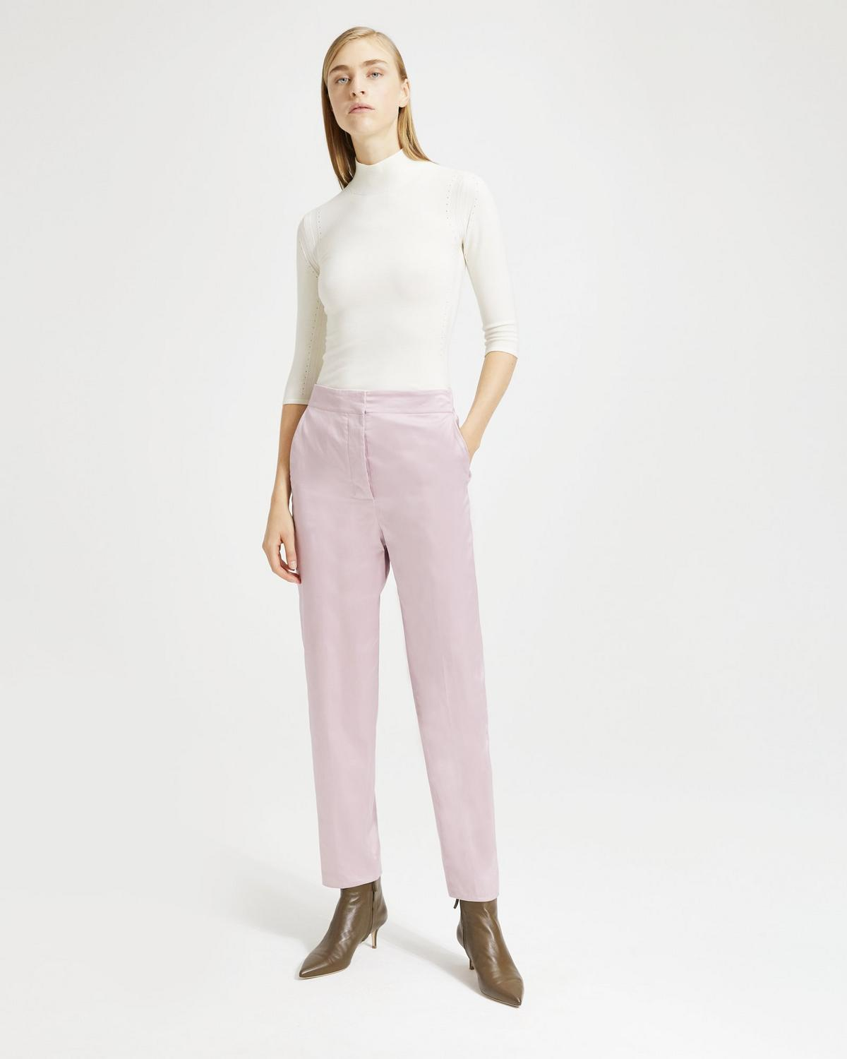 Cotton Chintz Clean Tapered Pant