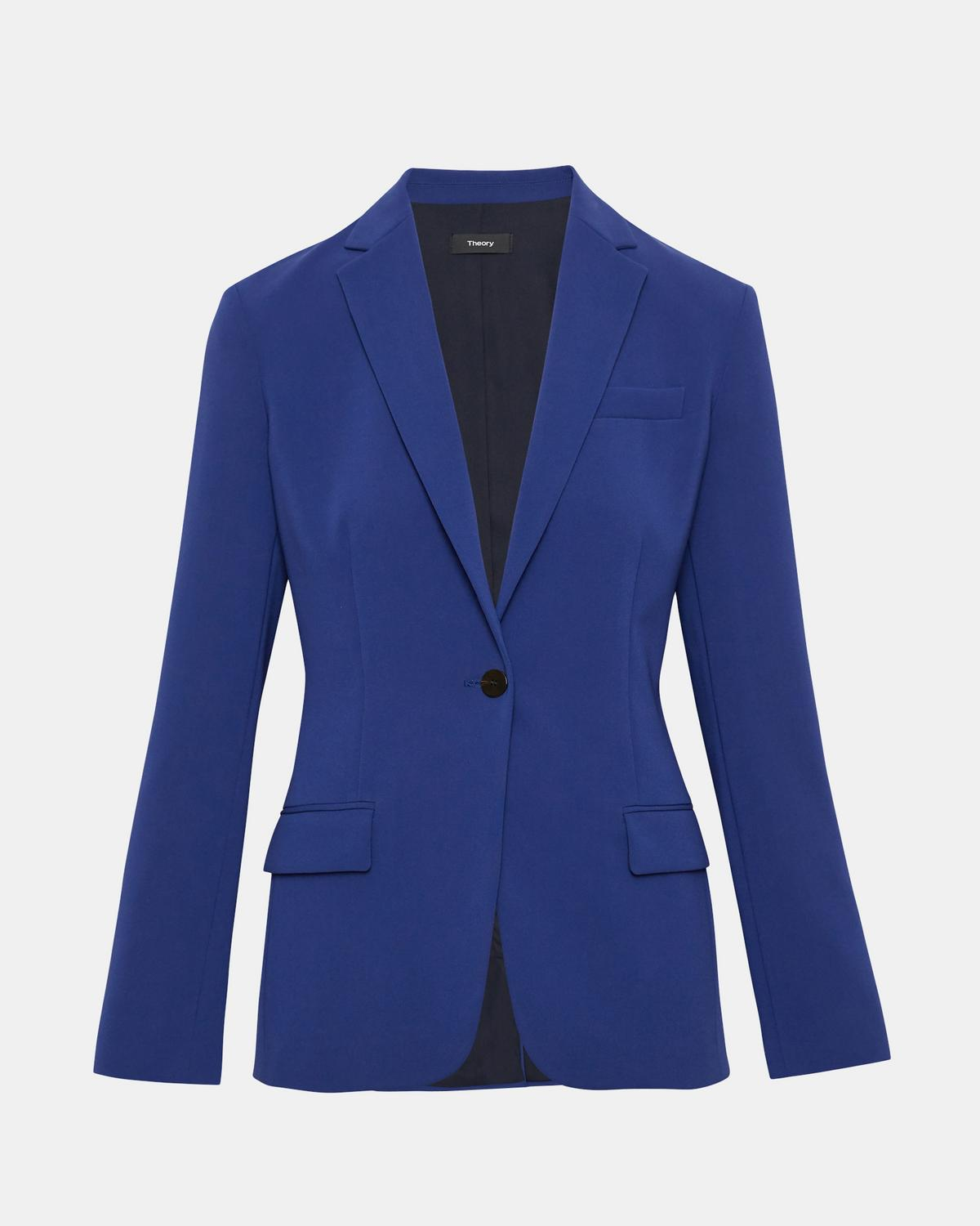 ebf2889a41f49 Classic Crepe Staple Blazer 1 - click to view larger image ...