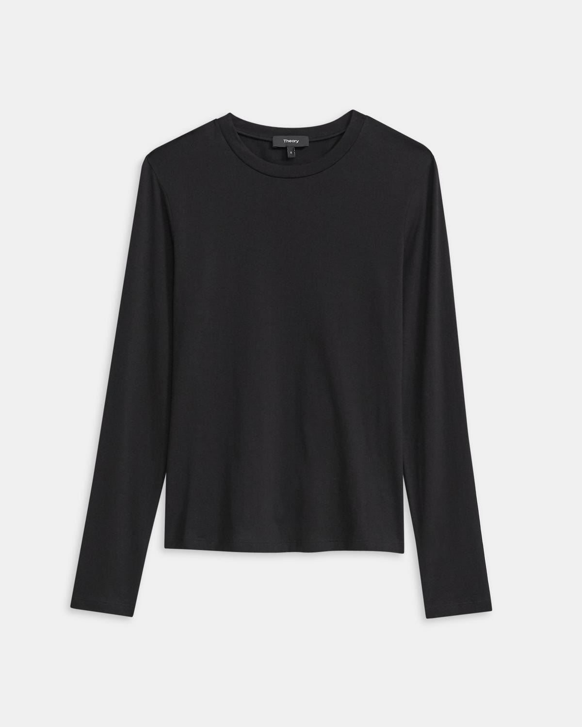 Tiny Long-Sleeve Tee in Cotton