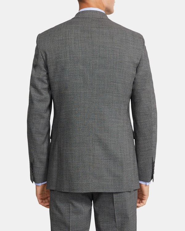 Chambers Blazer in Marled Stretch Wool