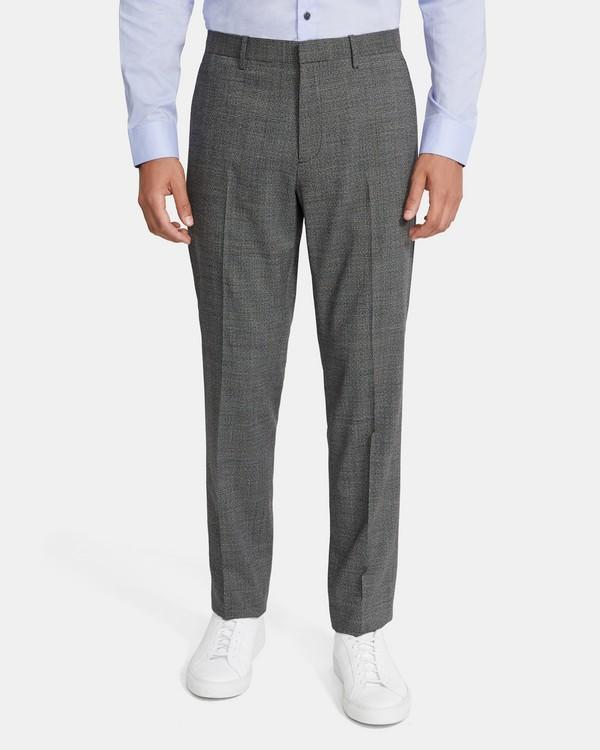 띠어리 맨 메이어 팬츠 Theory Mayer Pant in Marled Stretch Wool,BLACK MULTI