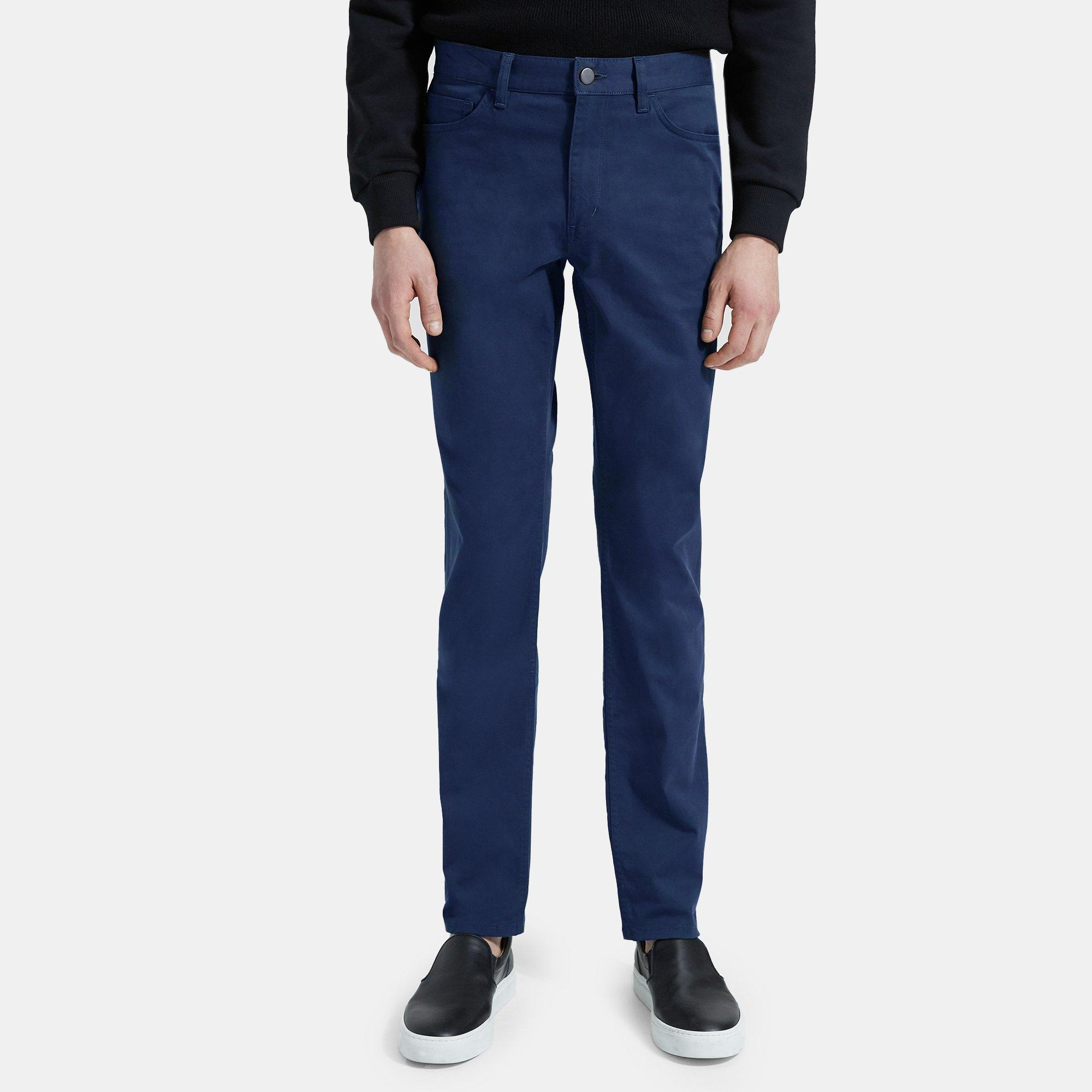 Haydin Pant in Stretch Cotton Twill | Theory