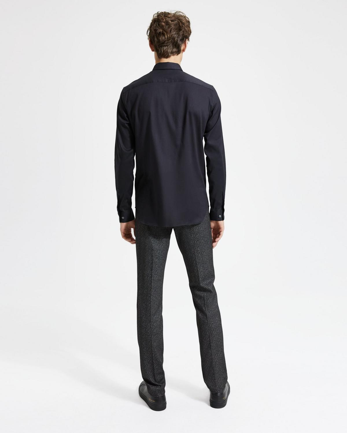 Brushed Cotton Standard-Fit Shirt