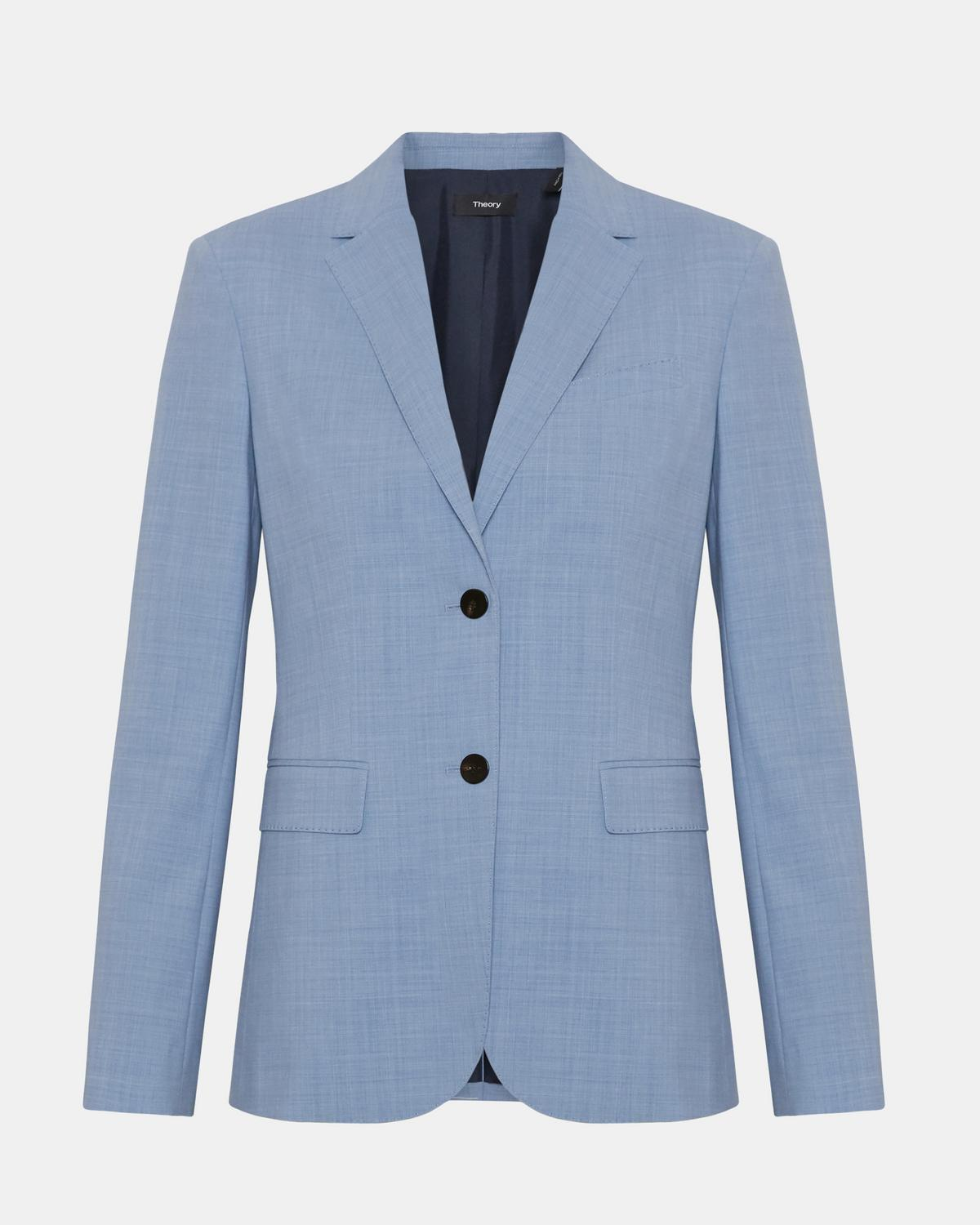 Travel Wool Classic Blazer