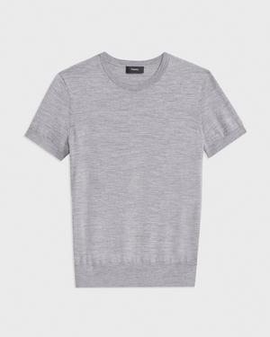 Basic Sweater Tee in Regal Wool
