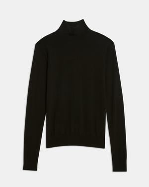 Turtleneck Sweater in Regal Wool