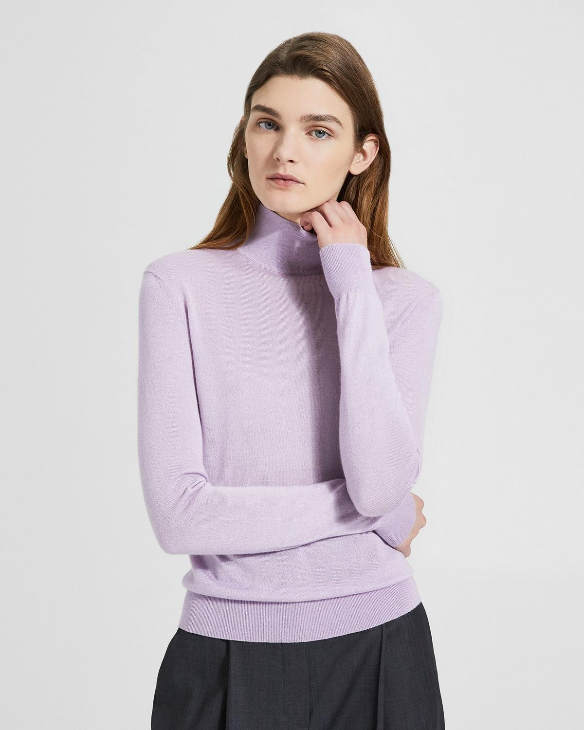 Silken Knit Turtleneck