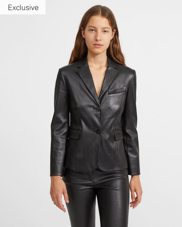 f6c644f173 Leather Classic Shrunken Jacket. Your Price $1,295.00