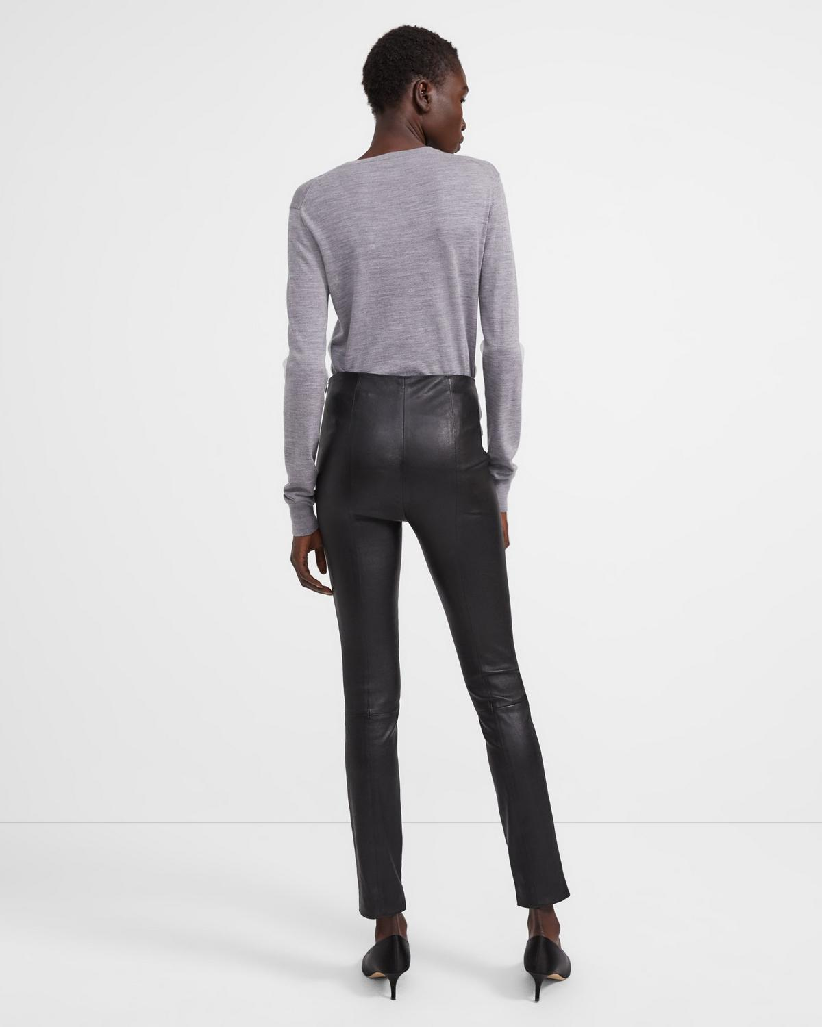 Skinny Leather Legging