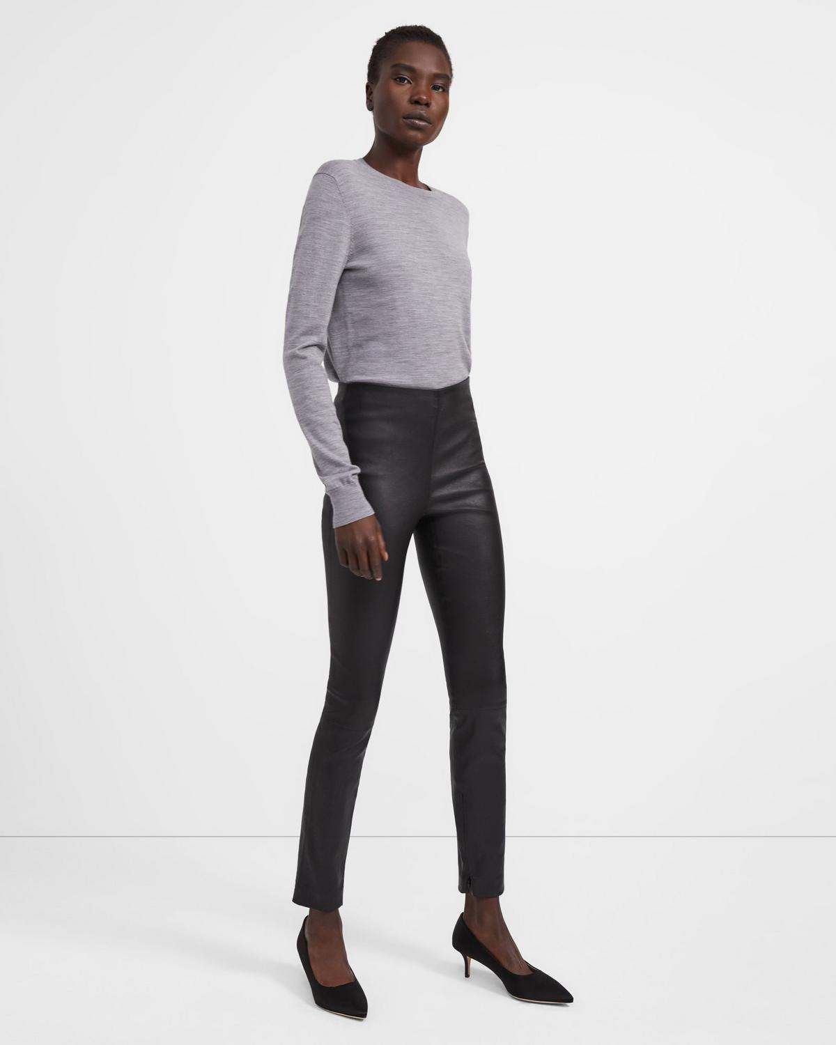 Leather Skinny Legging