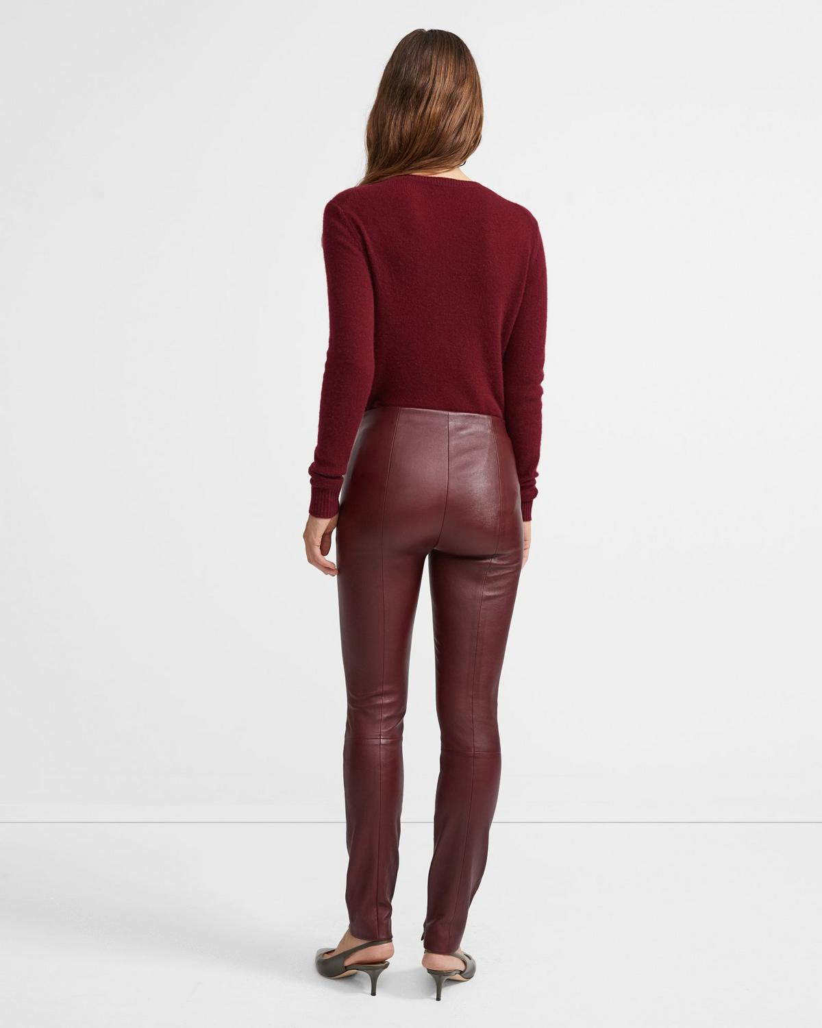 Skinny Legging in Leather
