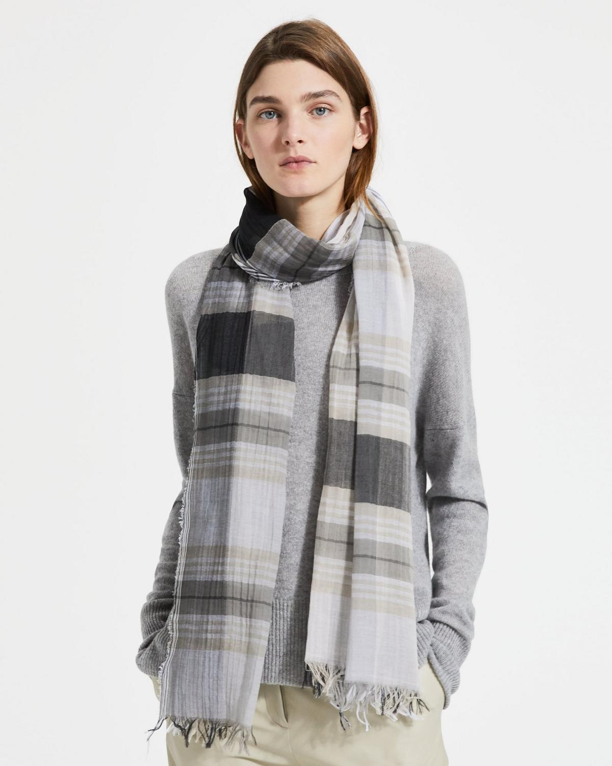 Plaid Novelty Scarf