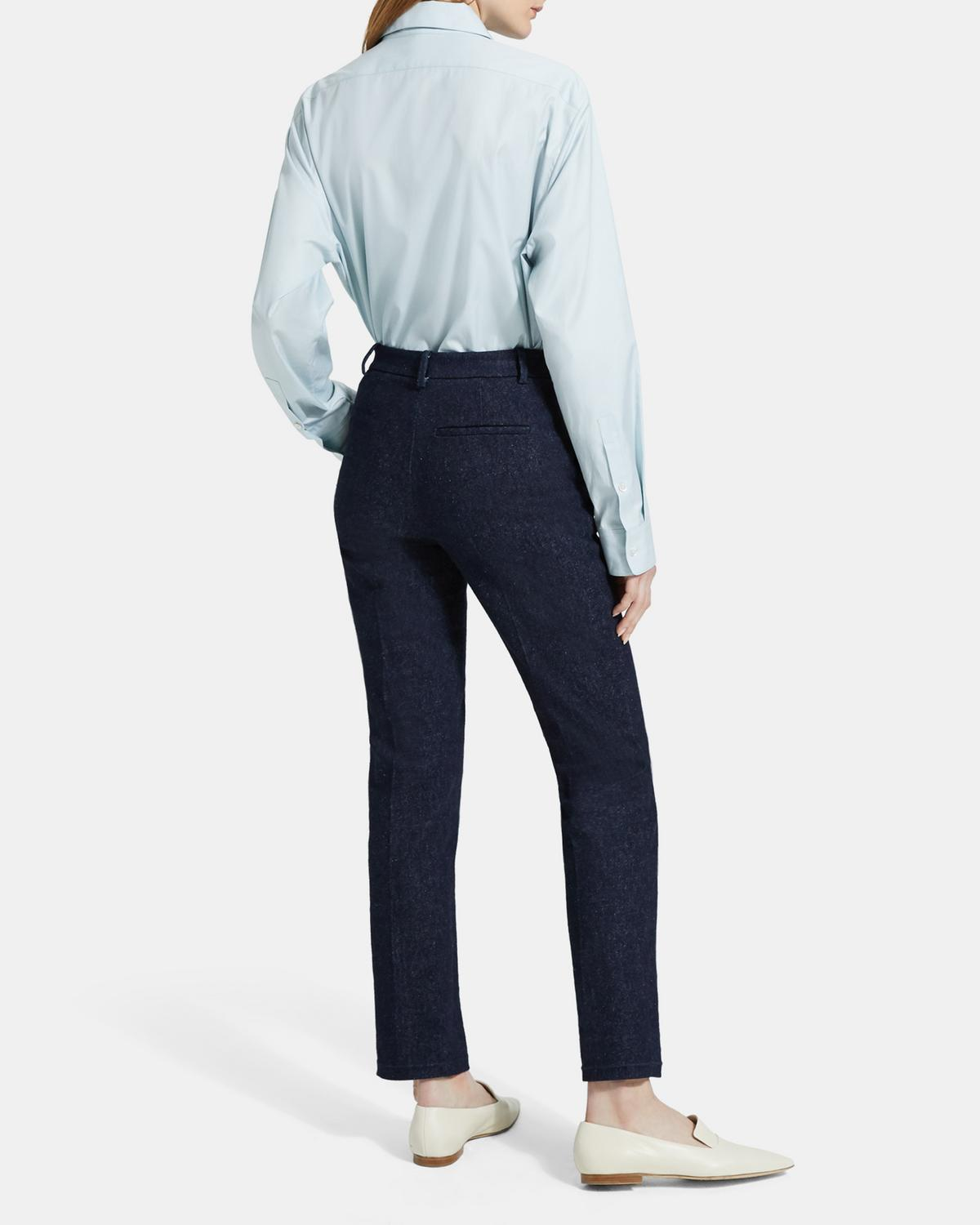 Denim Tailored Trouser