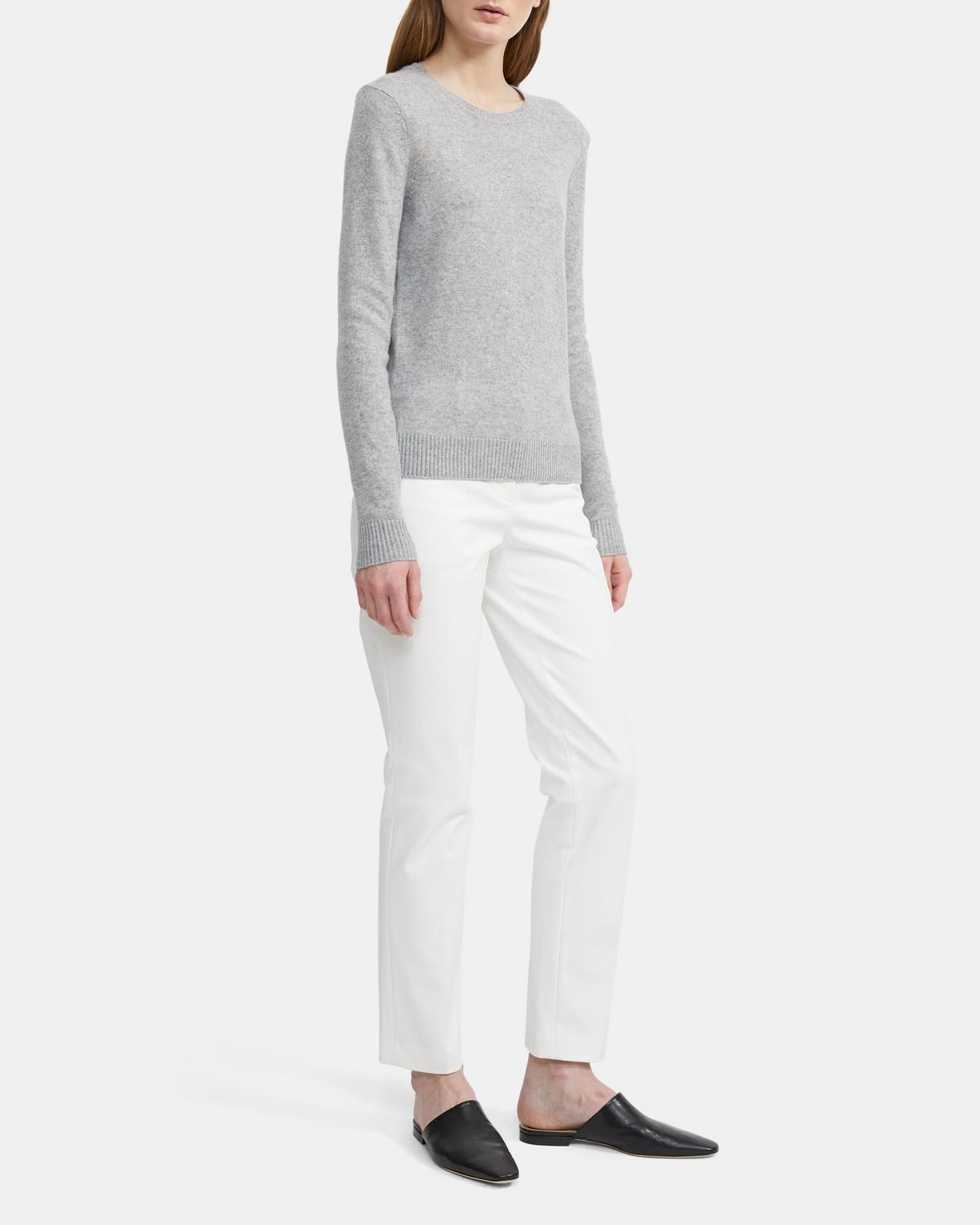 24eee4ea2d Theory. Cashmere Crewneck Pullover 0 - click to view larger image