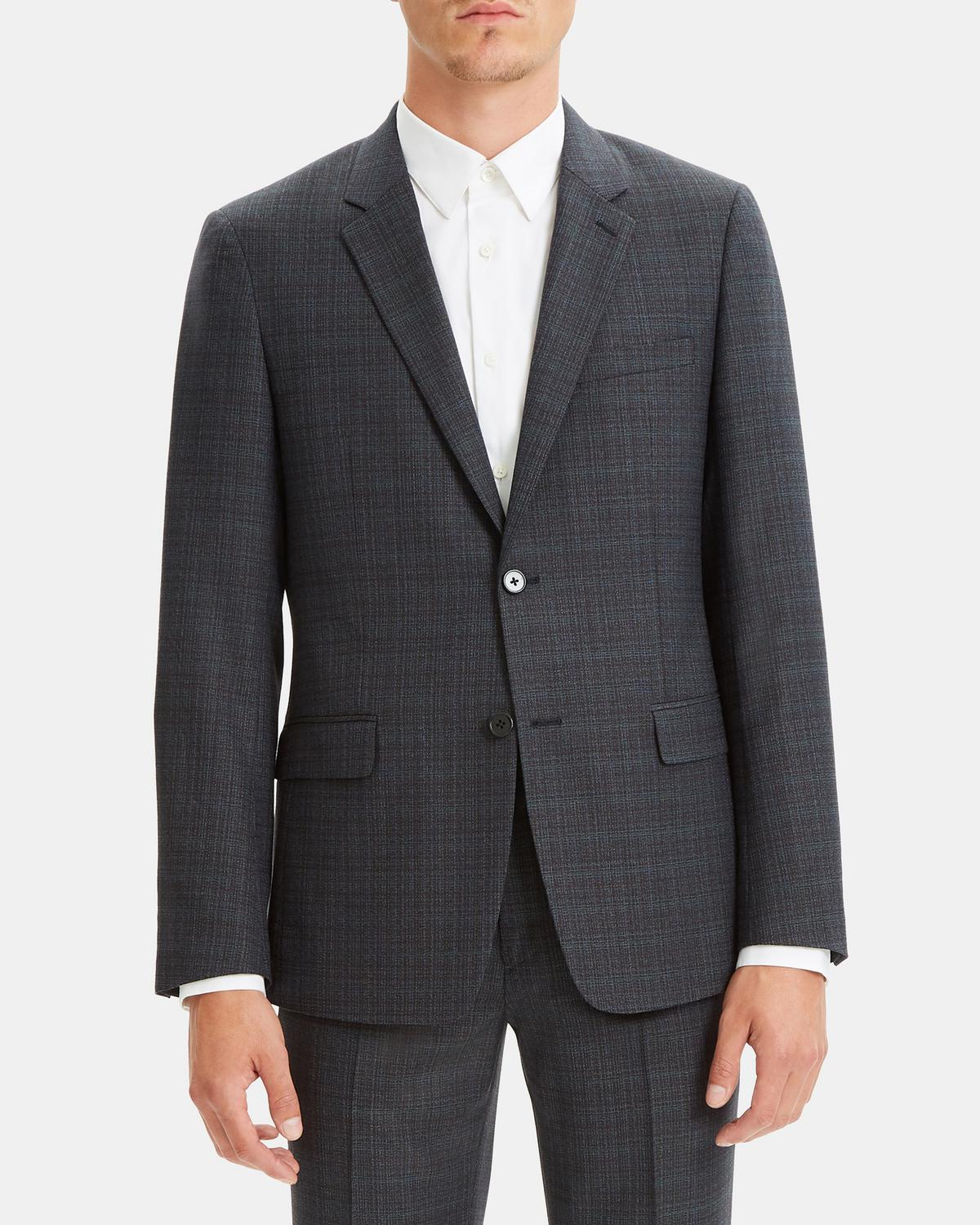 Wool Plaid Gansevoort Jacket