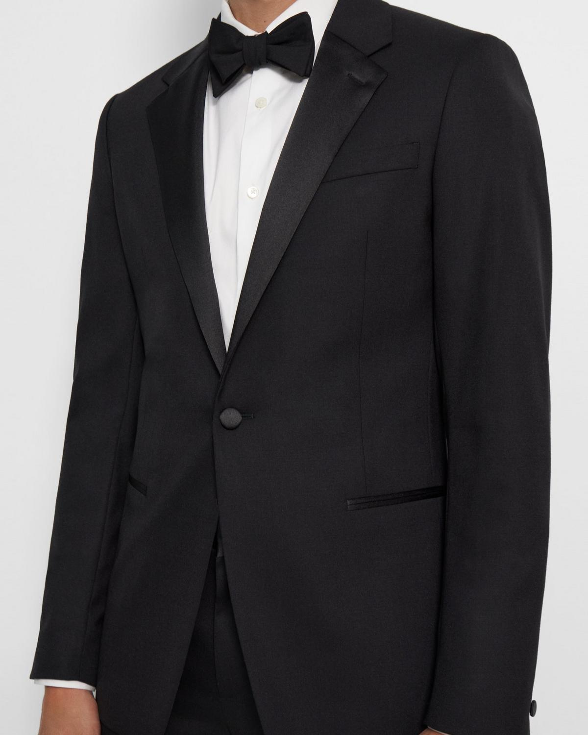 Chambers Tuxedo Blazer in Stretch Wool