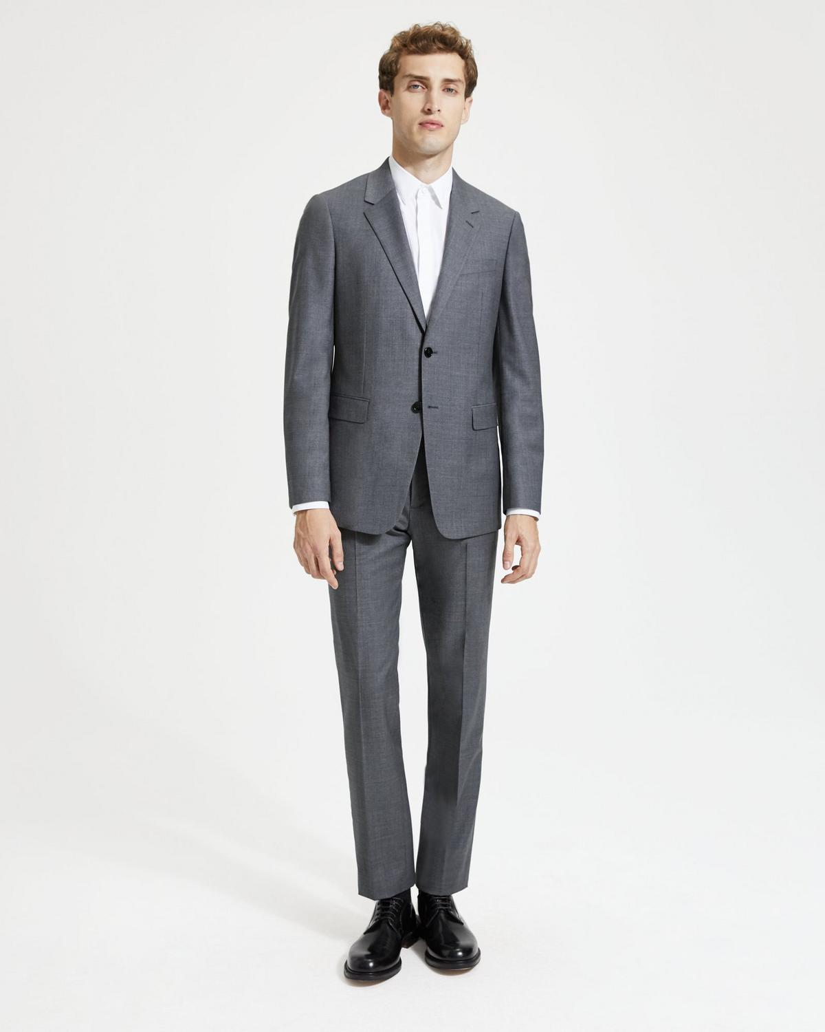 Sartorial Sharkskin Wool Mayer Pant