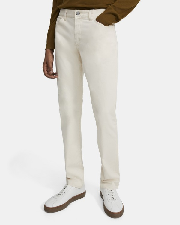 Five-Pocket Pant in Stretch Cotton
