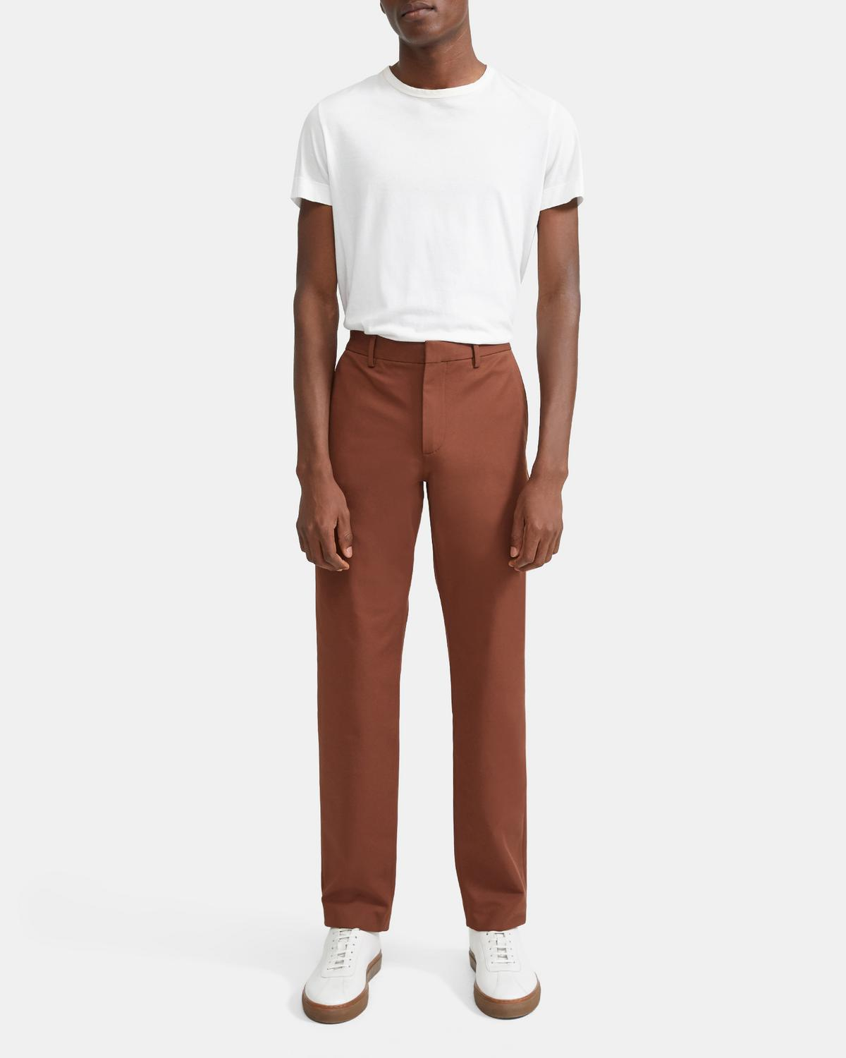Zaine Pant in Double Stretch Cotton