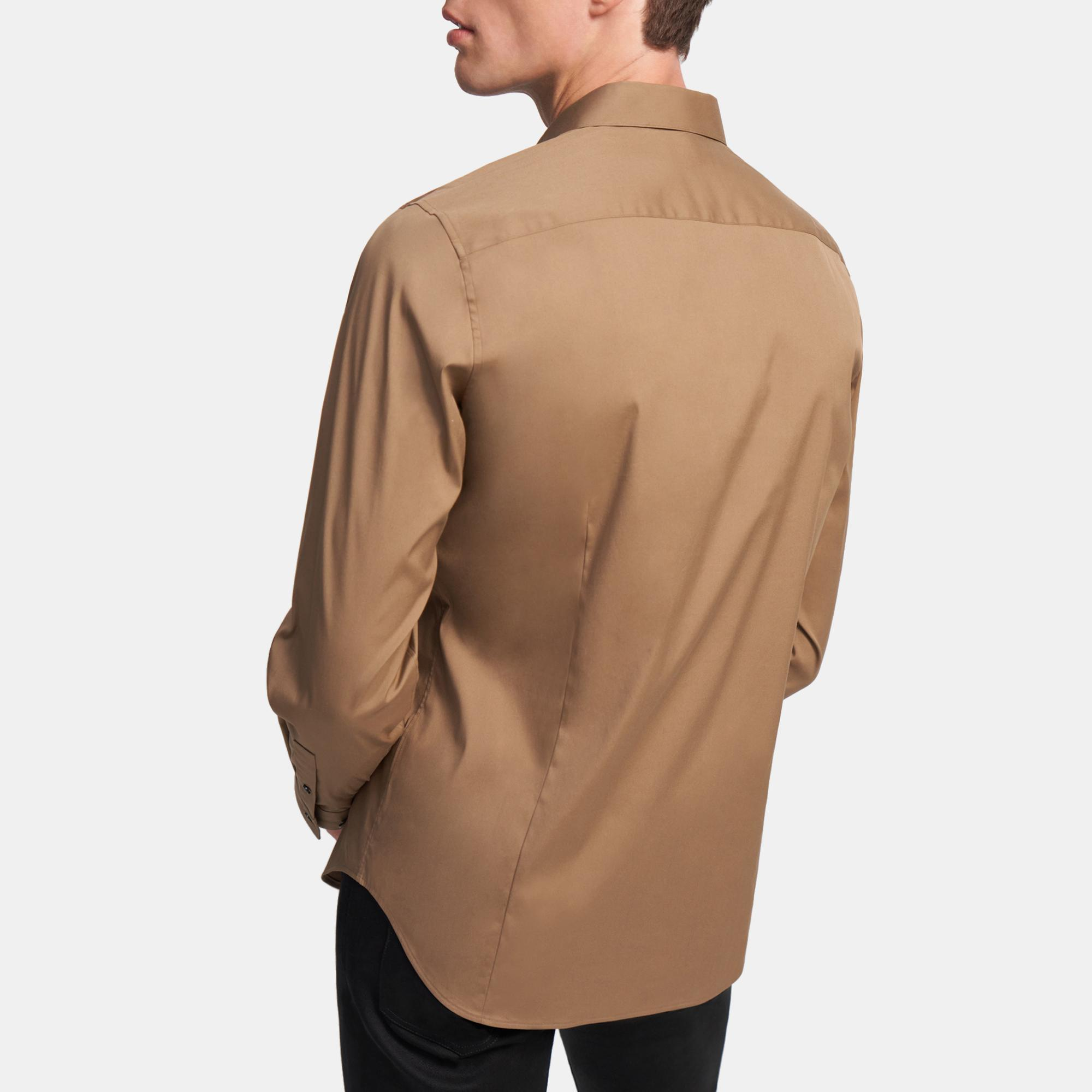 Sylvain Shirt in Good Cotton   Theory