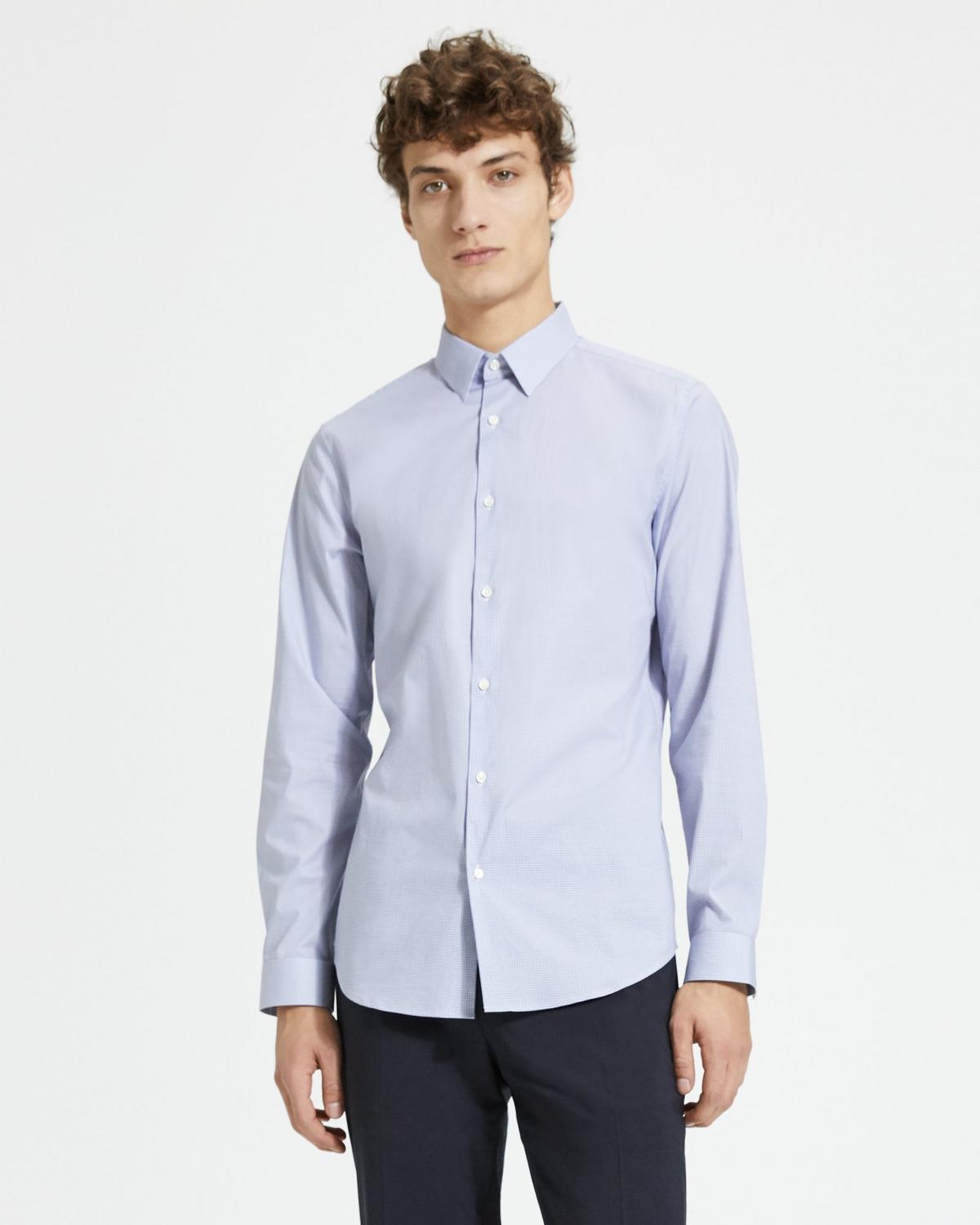Cotton Check Cedrick Shirt