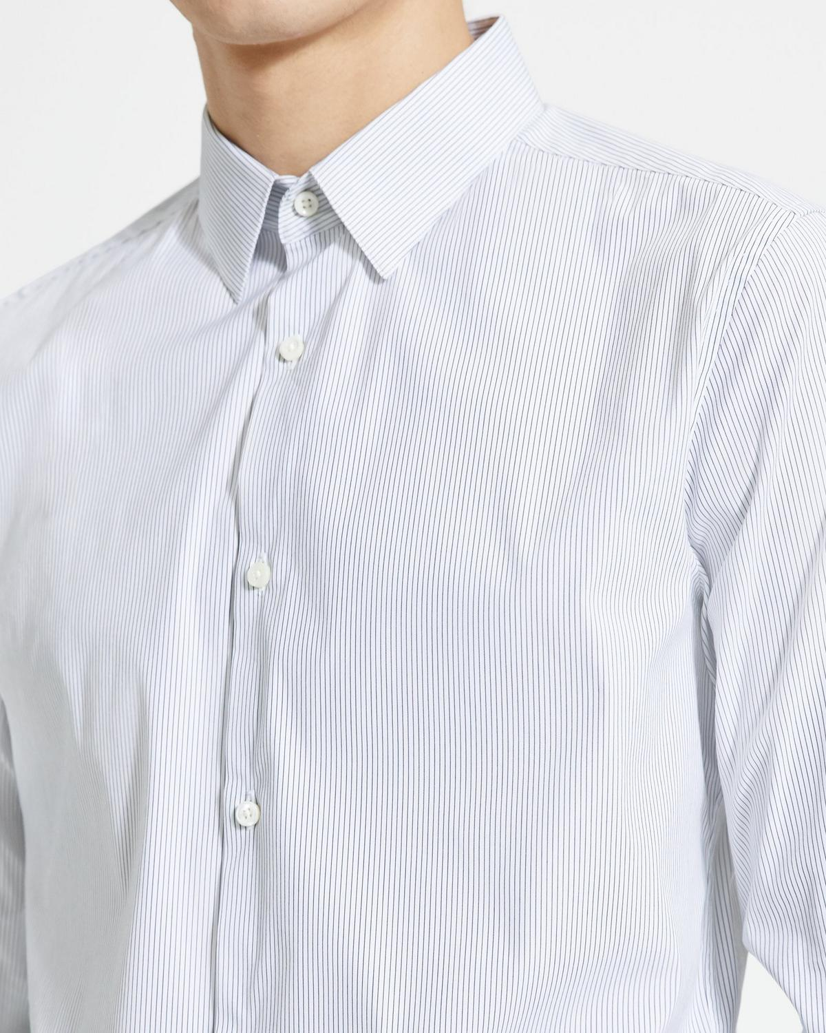 Wealth Cotton Pinstripe Sylvain Shirt