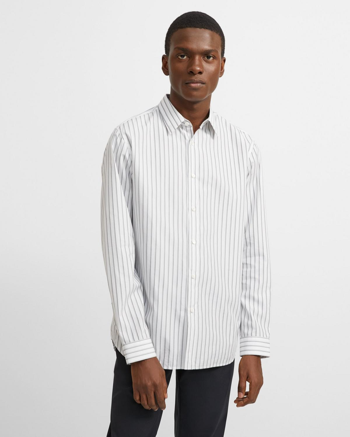 Pinstripe Irving Shirt