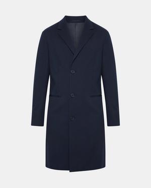 Bi-Color Ponte Coat