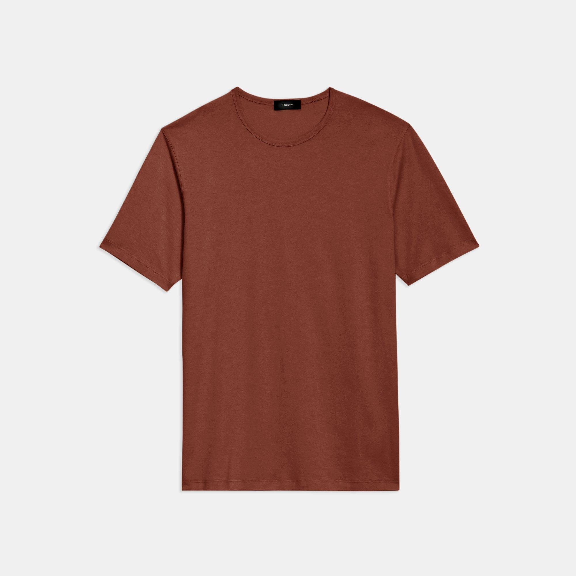 Precise Tee in Luxe Cotton Jersey   Theory