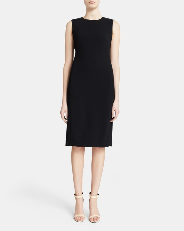 Sheath Dress in Crepe