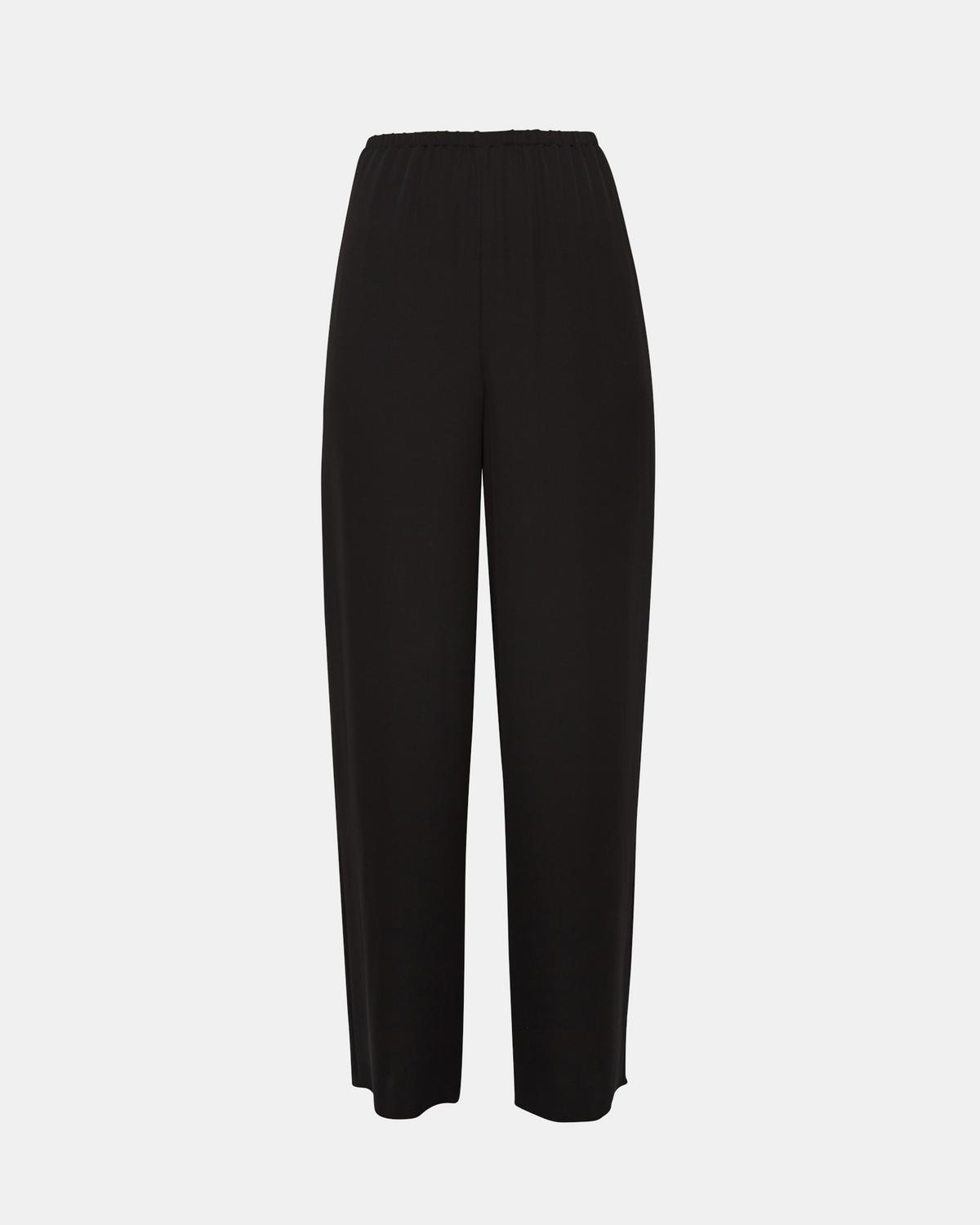 Silk Pull-On Trouser
