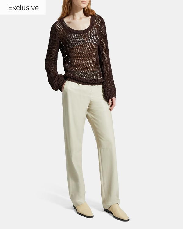 432a5a9302 Cotton Nylon Mesh Pullover