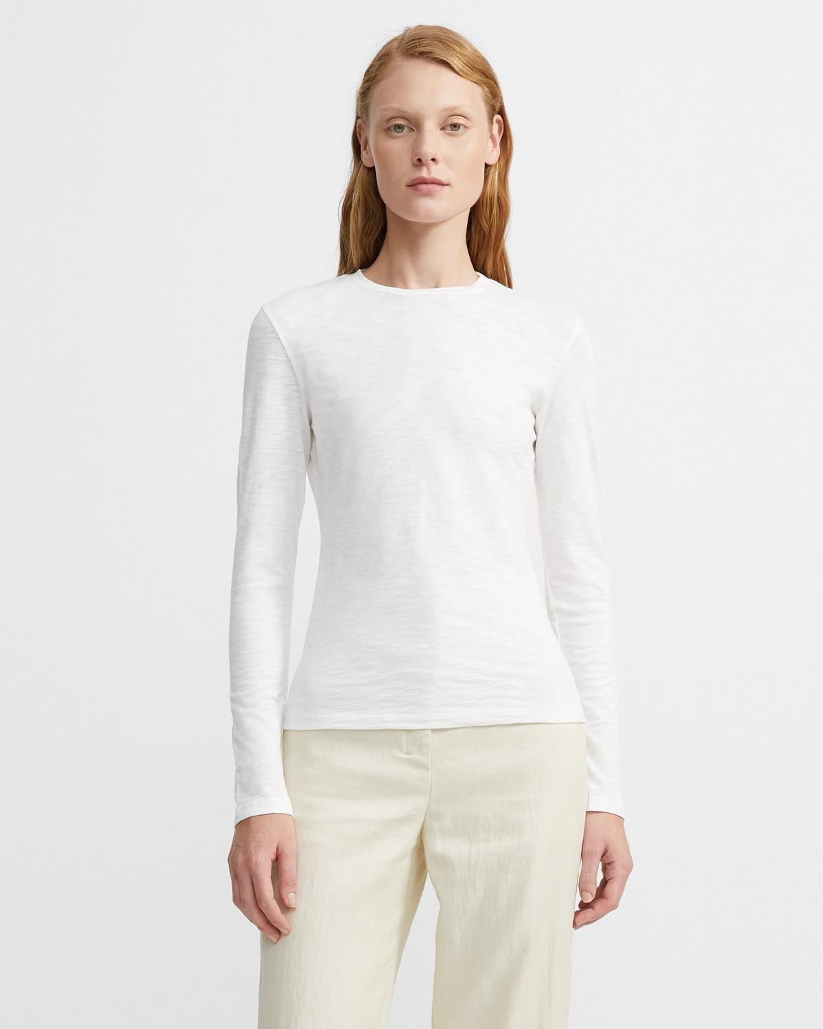 Tiny Long-Sleeve Tee in Organic Cotton