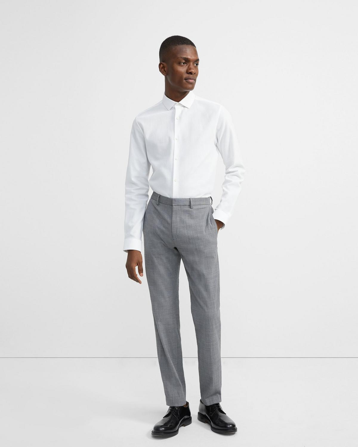 Zaine Pant in Seersucker Stretch Wool