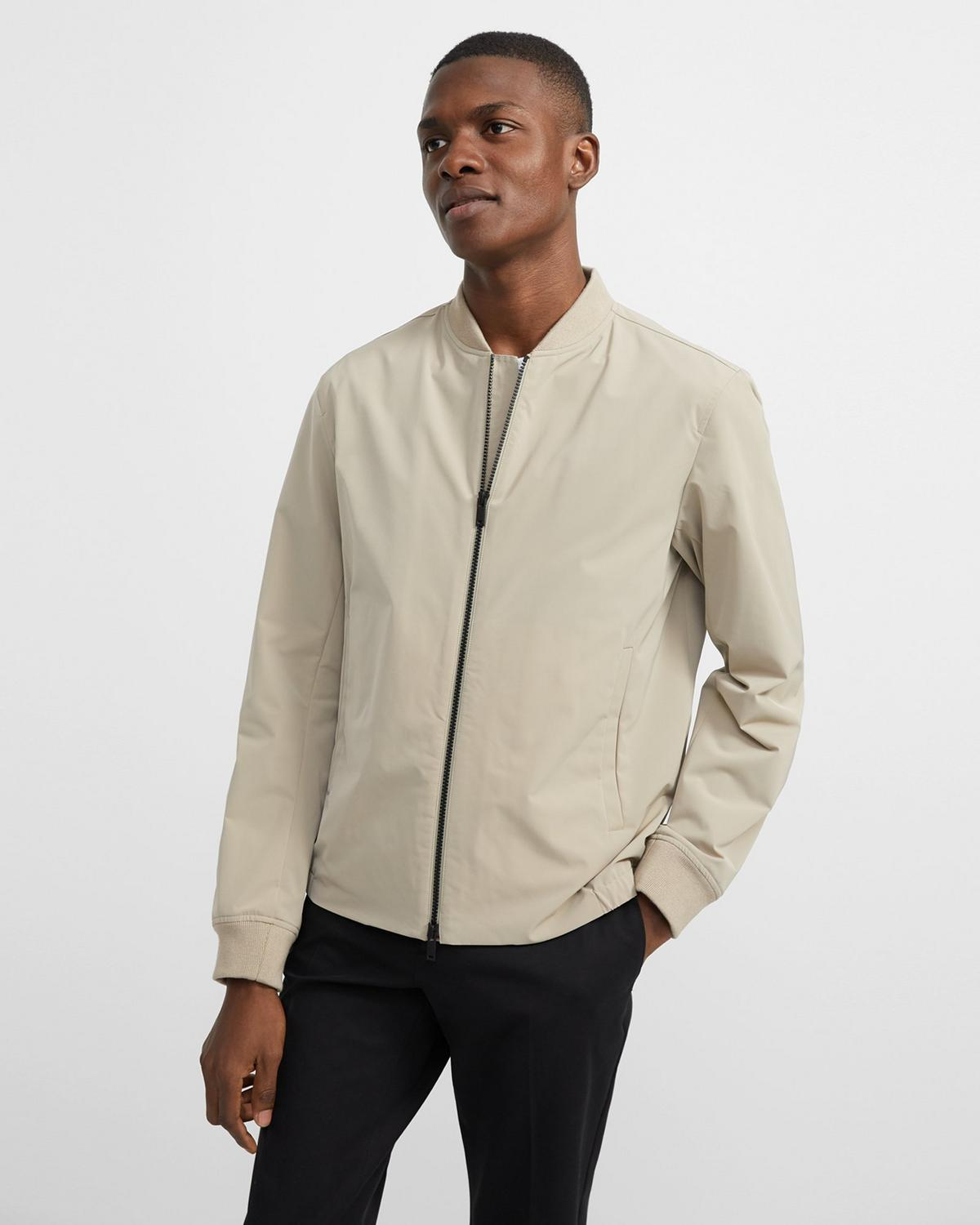 Clean Bomber Jacket