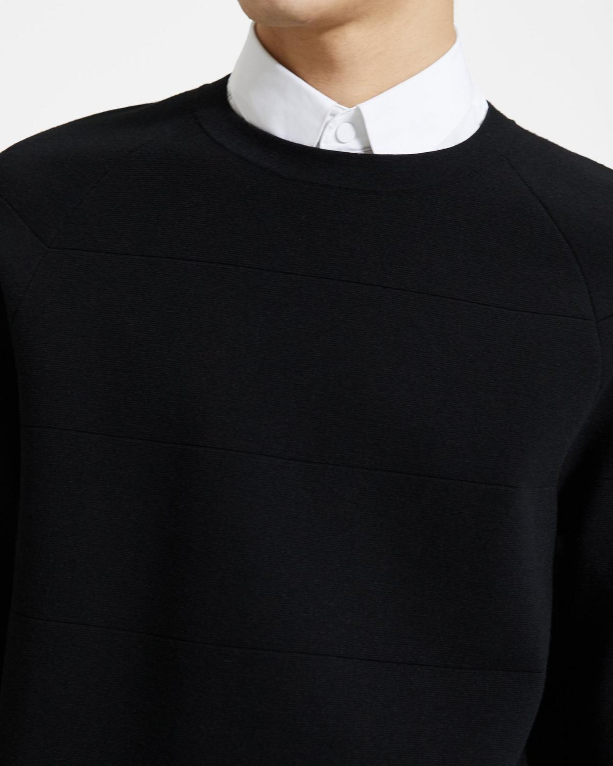 Engineered Crewneck Sweater