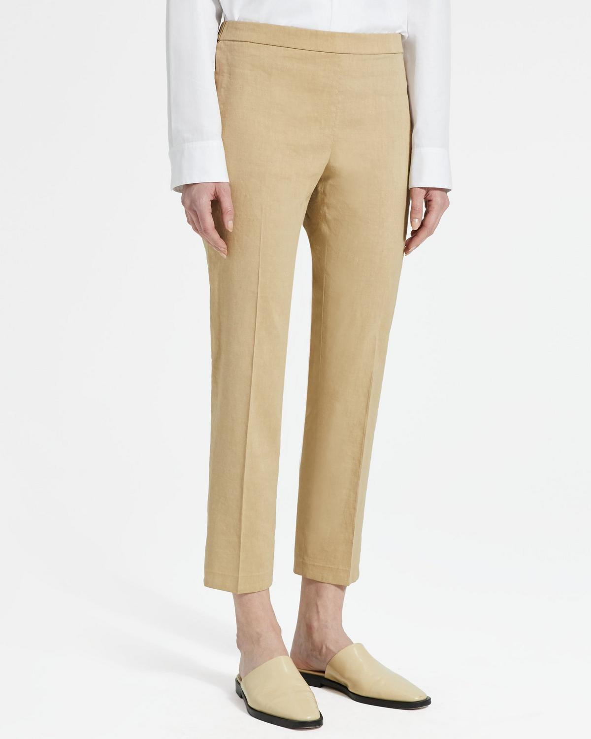 Good Linen Basic Pull-On Pant