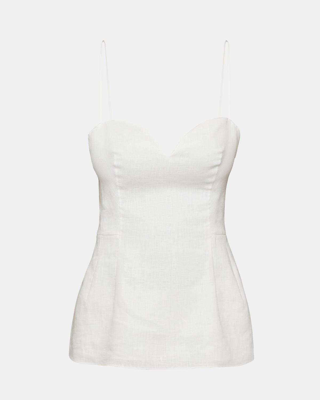 c35c055762 Pure Linen Sweetheart Top